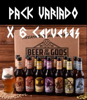 Pack 6 cervezas variadas